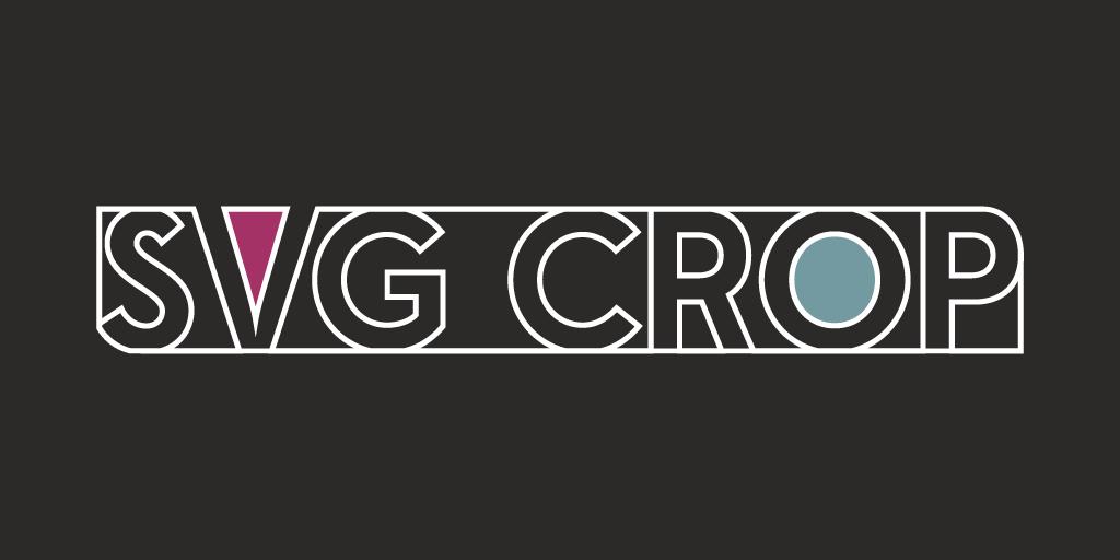 Crop SVGs image
